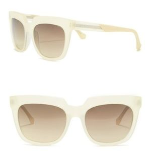 Balenciaga Oversized Square 55mm Sunglasses